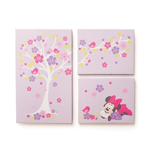Disney Baby Minnie Mouse Love Blossoms Premier Wall Art – Kids Intended For Kidsline Canvas Wall Art (Image 6 of 20)
