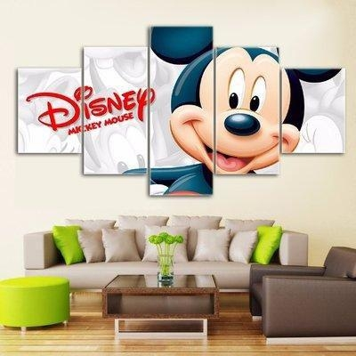 Disney Mickey Mouse Canvas Wall Art Price From Konga In Nigeria Inside Mickey Mouse Canvas Wall Art (Image 7 of 20)