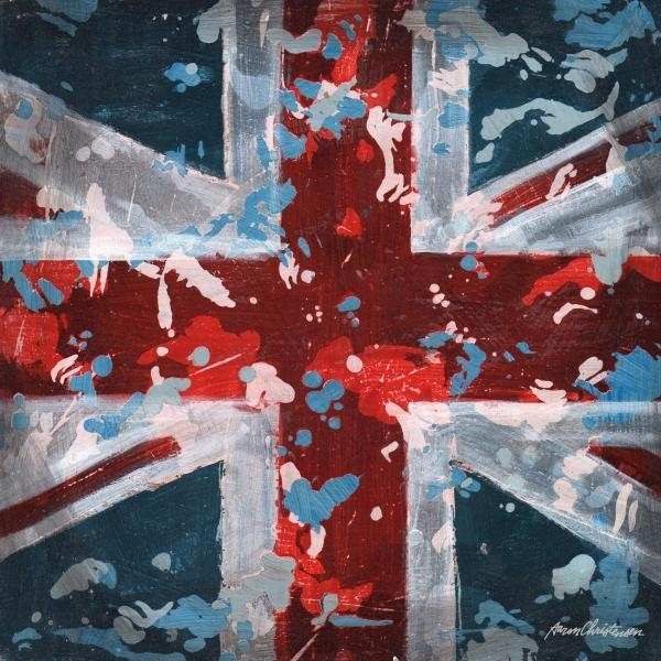 District17: Union Jack Flag Canvas Wall Art: Canvas Wall Art With Regard To Union Jack Canvas Wall Art (View 13 of 20)