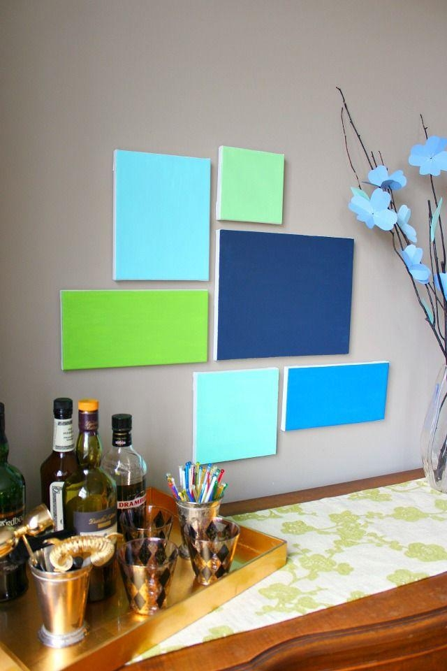 Diy Canvas Art | Canvases, Diy Canvas And Walls Inside Groupings Canvas Wall Art (Image 9 of 20)