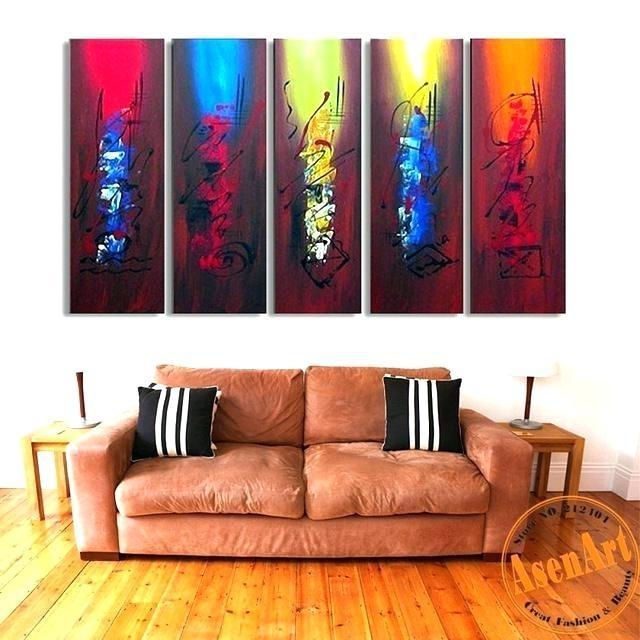 Diy Large Canvas Abstract Art Best Wall Ideas On Saint Painting Regarding Huge Abstract Wall Art (Image 5 of 20)