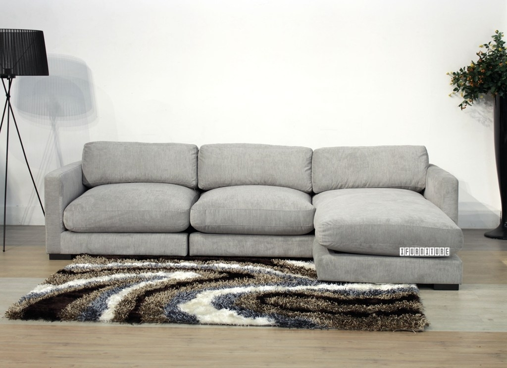 Dove Sectional Sofa *feather Filled , Sofa & Ottoman, Nz's Largest For Nz Sectional Sofas (Image 4 of 10)