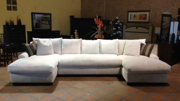 Down Filled Sectional Sofa New Design Best Linen Within 8 In Down Filled Sectional Sofas (Image 4 of 10)