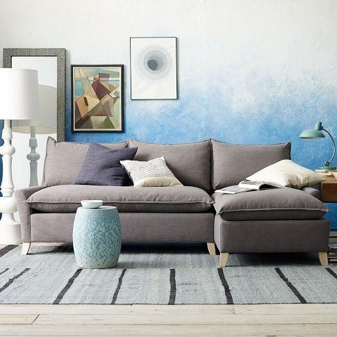 Down Filled Sectional – West Elm Intended For Down Filled Sectional Sofas (Image 5 of 10)