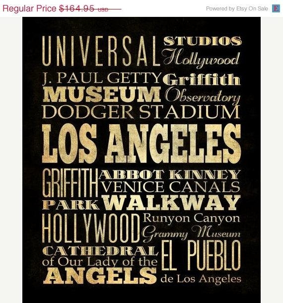 Download Los Angeles Wall Art | Himalayantrexplorers Pertaining To Los Angeles Canvas Wall Art (View 14 of 20)