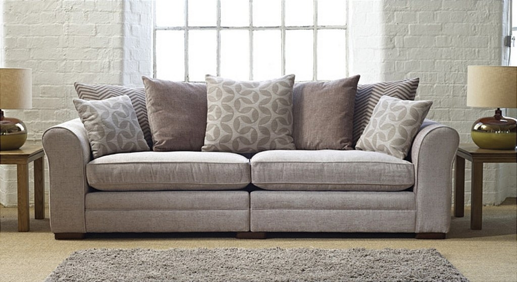 10 Ideas of Large 4 Seater Sofas | Sofa Ideas