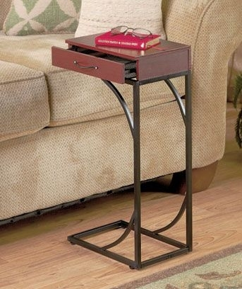 Drink Side Table – Ohio Trm Furniture Regarding Sofas With Drink Tables (Image 1 of 10)