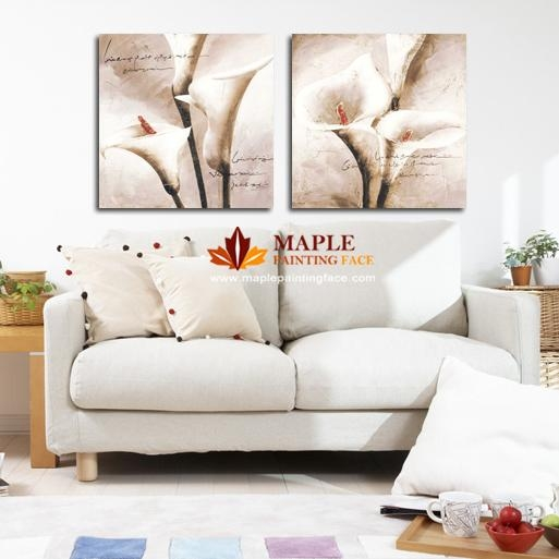 Drop Shipping Hot Canvas Painting Flower Wall Pictures For Living Inside Canvas Wall Art Of Flowers (View 12 of 20)