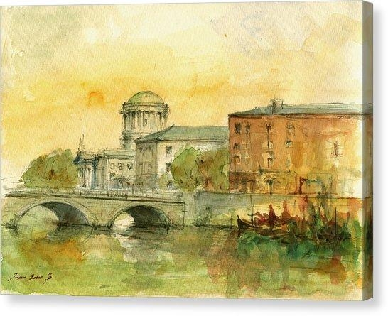 Dublin Canvas Prints | Fine Art America Pertaining To Dublin Canvas Wall Art (View 19 of 20)