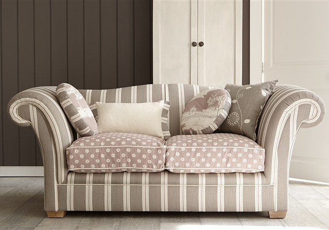 Duck Egg Designer Classic Sofas Made With Luxury Fabrics, Rustic Inside Classic Sofas (Image 4 of 10)