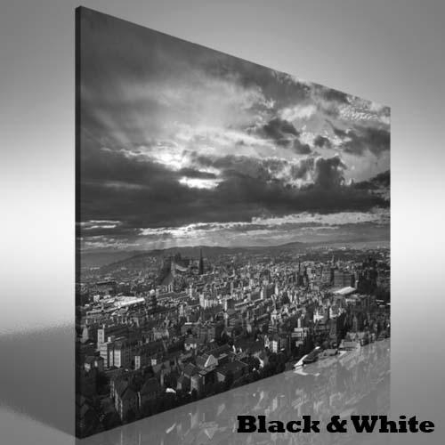 Edinburgh Skyline Canvas Print Large Picture Wall Art | Ebay Inside Edinburgh Canvas Prints Wall Art (Image 14 of 20)