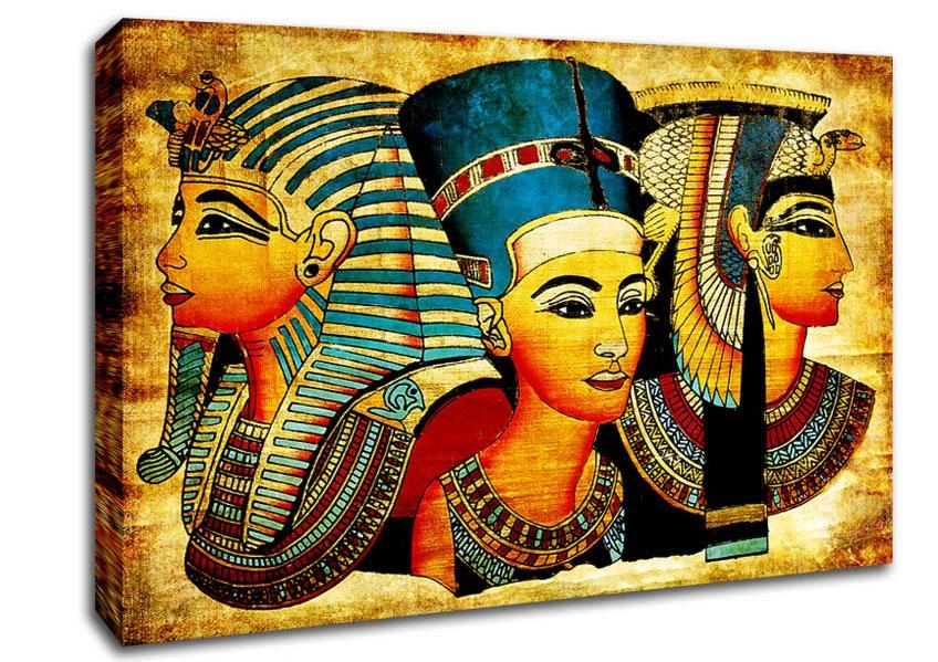 Egyptian Canvas Art | Wallartdirect.co (View 8 of 20)