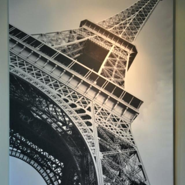 Eiffel Tower Wall Art Tower Wall Decor Tower Wall Art Tower Wall Throughout Eiffel Tower Canvas Wall Art (Image 9 of 20)
