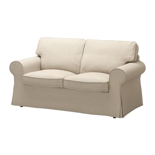 Ektorp Two Seat Sofa – Nordvalla Dark Beige – Ikea In Ikea Two Seater Sofas (Image 3 of 10)