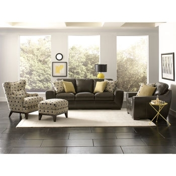 Elegant Leather Sofa And Chair Sets Costco Living Room Sets Costco Within Sofa And Accent Chair Sets (Photo 3 of 10)