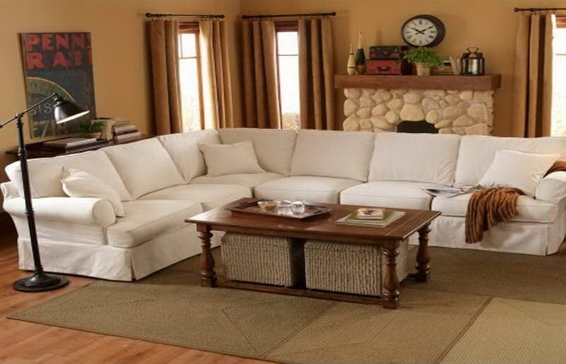 Elegant Pottery Barn Sectional Sofas 99 About Remodel Sofas And With Pottery Barn Sectional Sofas (Photo 8 of 10)