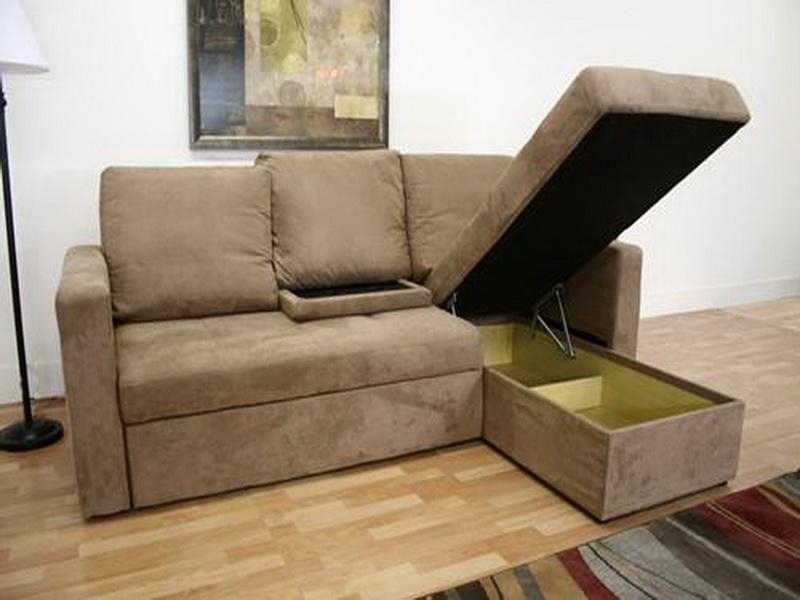 Elegant Sectional Sofa Beds For Small Spaces Small Chaise Sofa Regarding Small Sectional Sofas For Small Spaces (Photo 3 of 10)