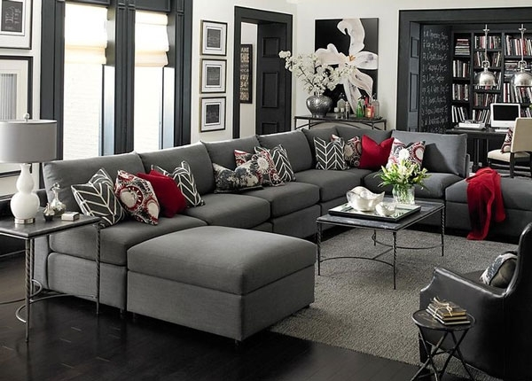 Epic Charcoal Grey Couch 11 In Sofas And Couches Ideas With Charcoal For Charcoal Grey Sofas (Image 8 of 10)