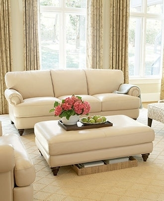 Epic Cream Colored Leather Sofa 70 For Your Sofas And Couches Within Cream Colored Sofas (Image 7 of 10)