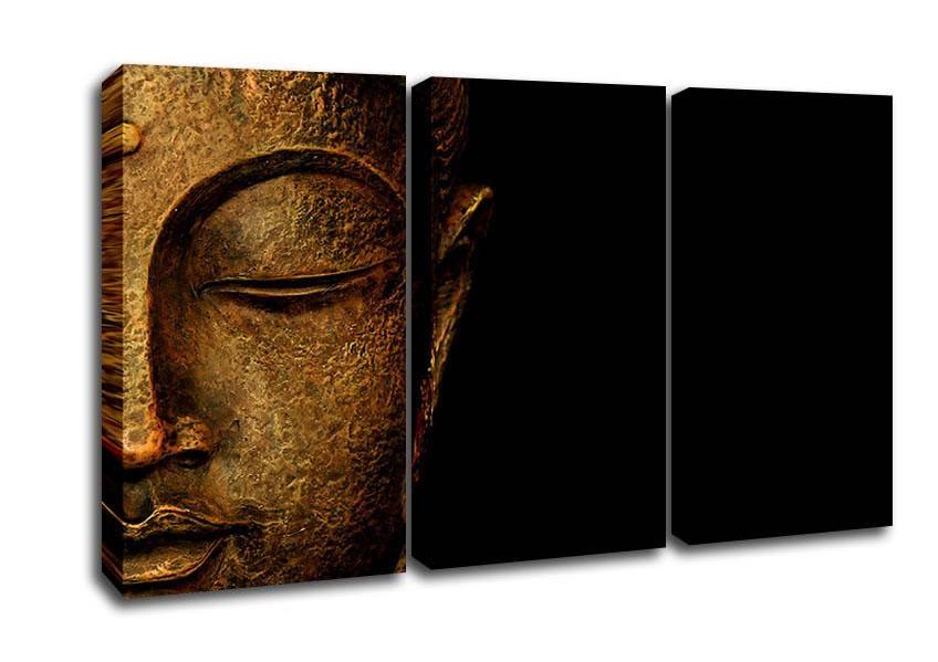 Ethnic 3 Panel Canvas Artwallart Direct.co (View 6 of 20)