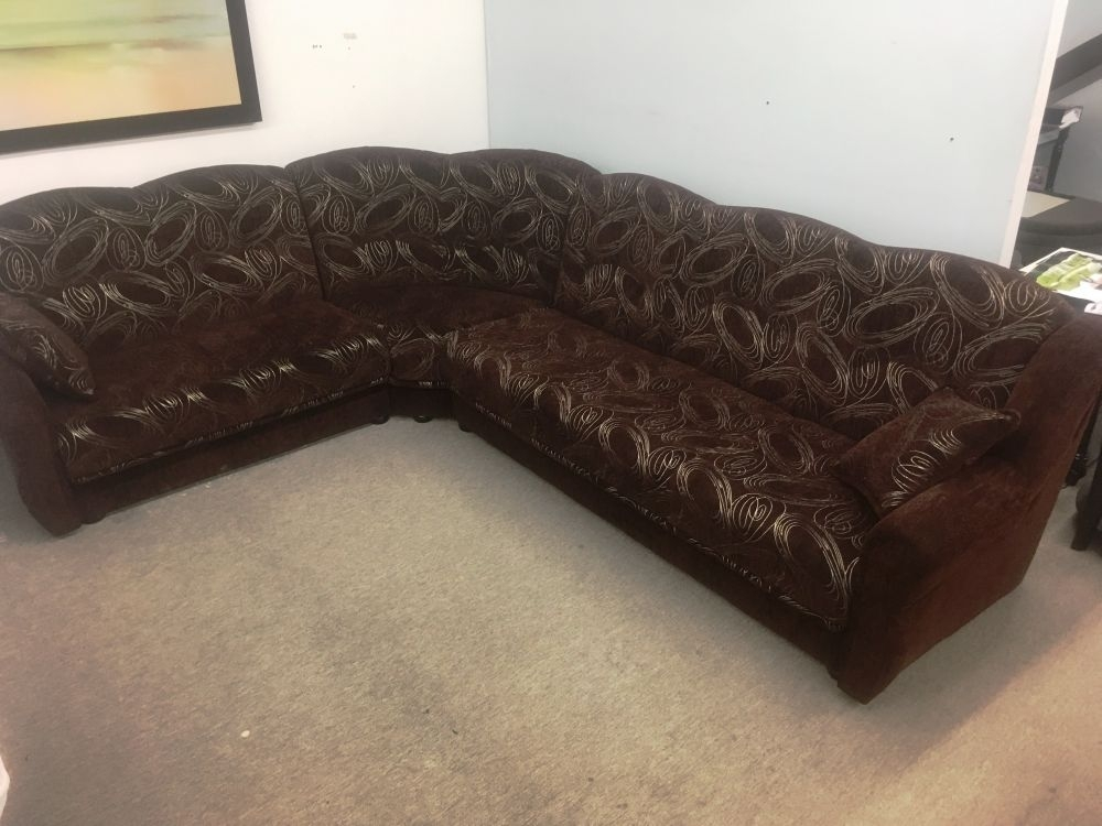 European Made Sectional Sofa Reversible Boss (Image 3 of 10)
