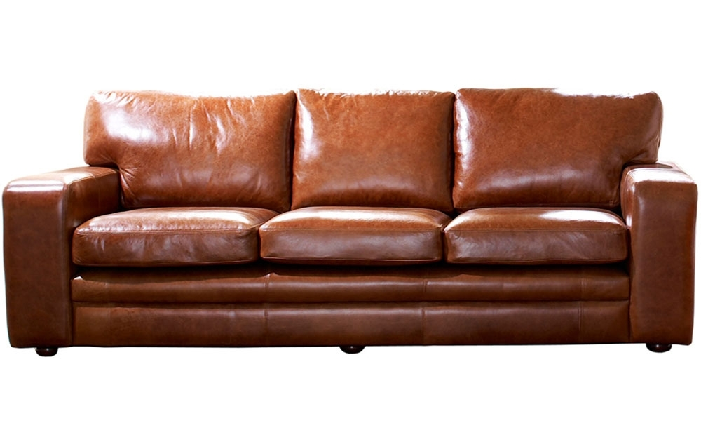 Excellent Complete The Pleasing Full Grain Leather Sofa Home Design Throughout Full Grain Leather Sofas (Photo 7 of 10)