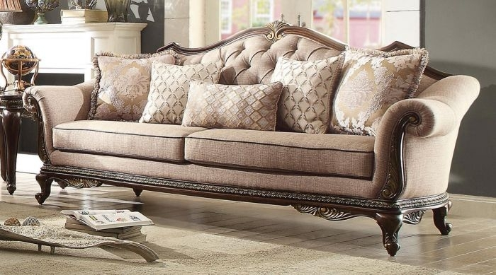 Excellent Ideas Traditional Fabric Sofas – Outdoor Fiture Inside Traditional Fabric Sofas (Photo 5 of 10)