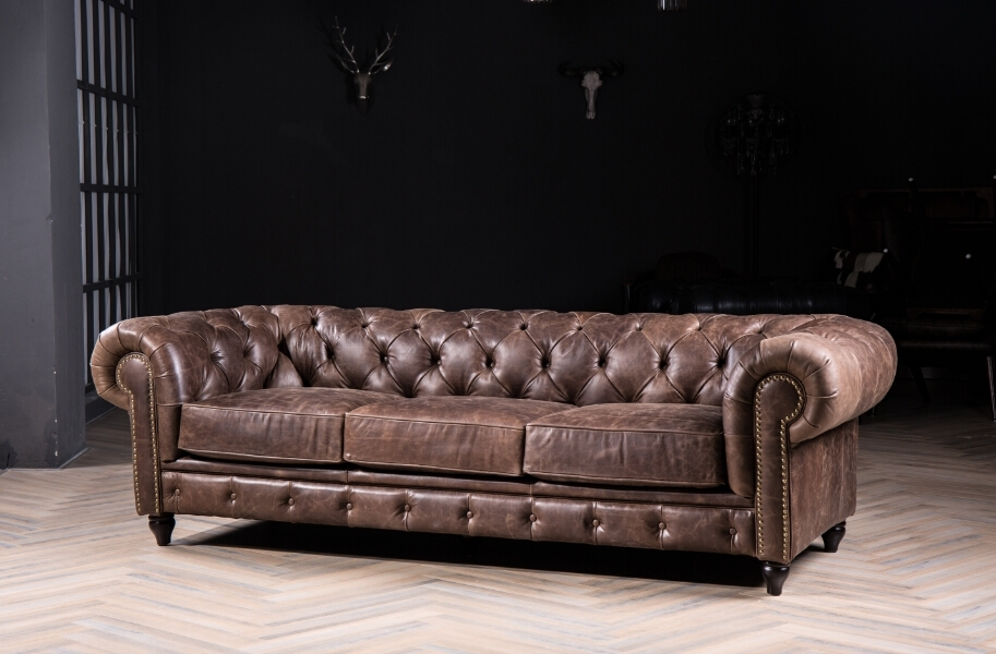 Excellent Online Shop Chesterfield Sofa Classic With Vintage Leather Throughout Vintage Sofas (Photo 8 of 10)