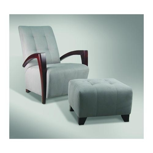 Excellent Santiago Club Chair And Ottoman San7700 San7500 From Lee For Chairs With Ottoman (Photo 6 of 10)