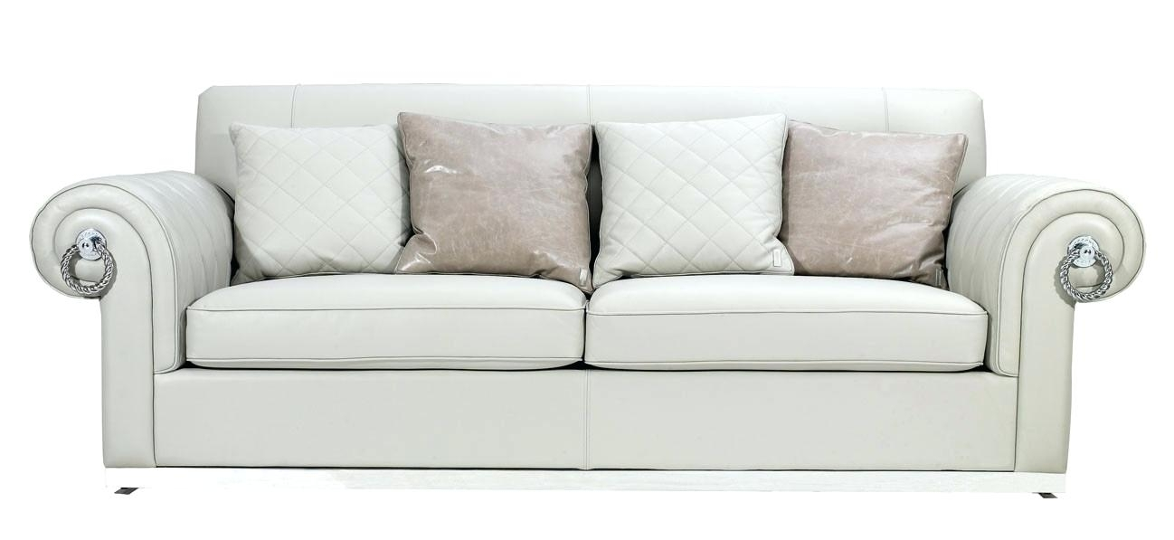 Exotic Off White Couch Marvelous Off White Leather Sofa Sofa Pertaining To Off White Leather Sofas (Image 5 of 10)