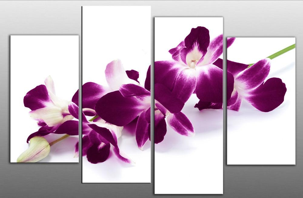 Exquisite Ideas Pu Design Inspiration Purple Canvas Wall Art With Regard To Canvas Wall Art In Purple (Photo 6 of 20)