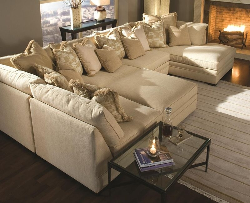 Extra Large Sectional Sofas With Chaise … | Pinteres… Intended For Extra Large U Shaped Sectionals (Photo 6 of 10)