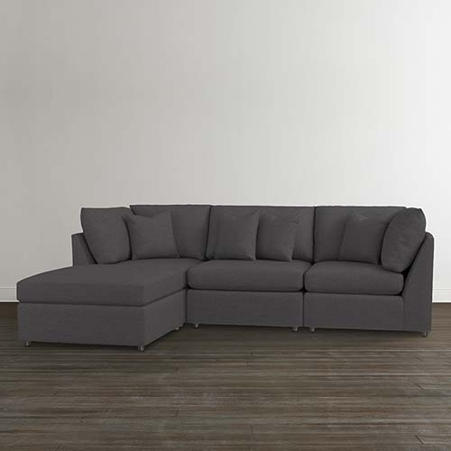 Fabric Sectionals For Small Sectional Sofas (View 9 of 10)
