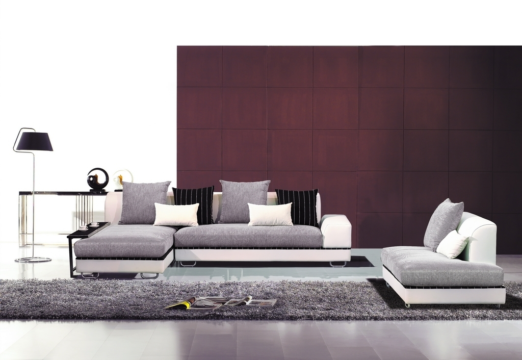 Fabric Sectionals, Modern Living Room – Contemporary Fabric Regarding Contemporary Fabric Sofas (Image 5 of 10)