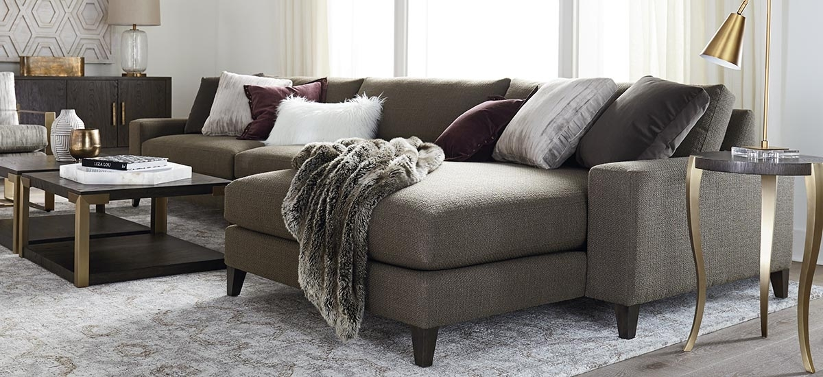 Fabric Sectionals Throughout Long Chaise Sofas (View 6 of 10)