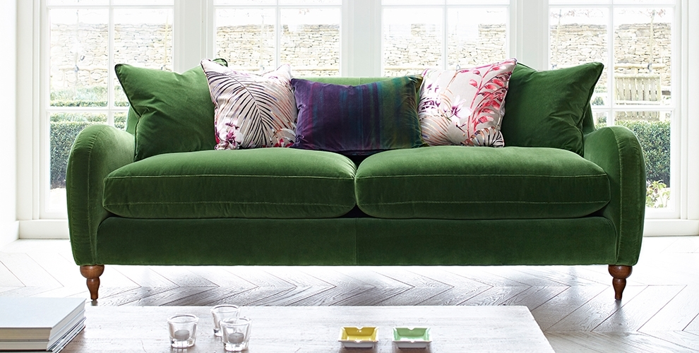 Fabric Sofas Nottingham | Derby | Leicester Throughout Fabric Sofas (Image 4 of 10)