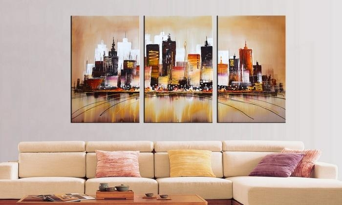 Fabuart – Up To 61% Off Chicago | Groupon Regarding Groupon Canvas Wall Art (Image 10 of 20)