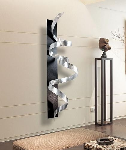 Fabulous Abstract Metal Wall Art Sculpture M57 On Home Decoration Inside Abstract Metal Wall Art Sculptures (View 14 of 20)