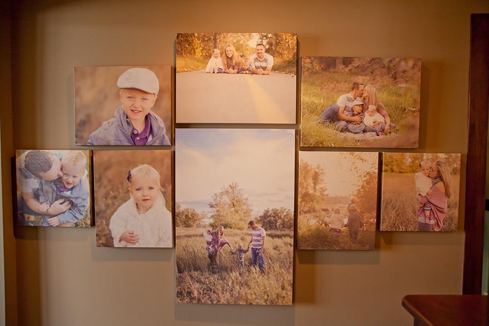 Family Art | Canvas Wall | Calgary Alberta Newborn Photographer In Calgary Canvas Wall Art (Image 12 of 20)
