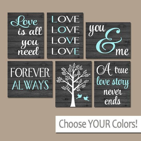 Family Wall Art, Canvas Or Prints Custom Love Story Quotes Art Intended For Custom Quote Canvas Wall Art (Image 12 of 20)