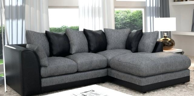 Fancy Light Grey Sectional Couch Wonderful Gorgeous Grey Sectional With Regard To Quebec Sectional Sofas (Image 4 of 10)
