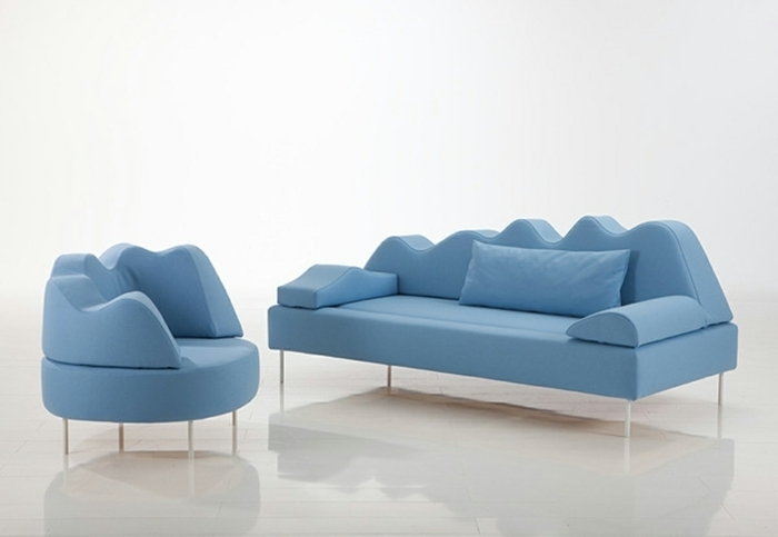 Fancy Sofas Give The Living Room An Interesting Touch In Fancy Sofas (Image 7 of 10)