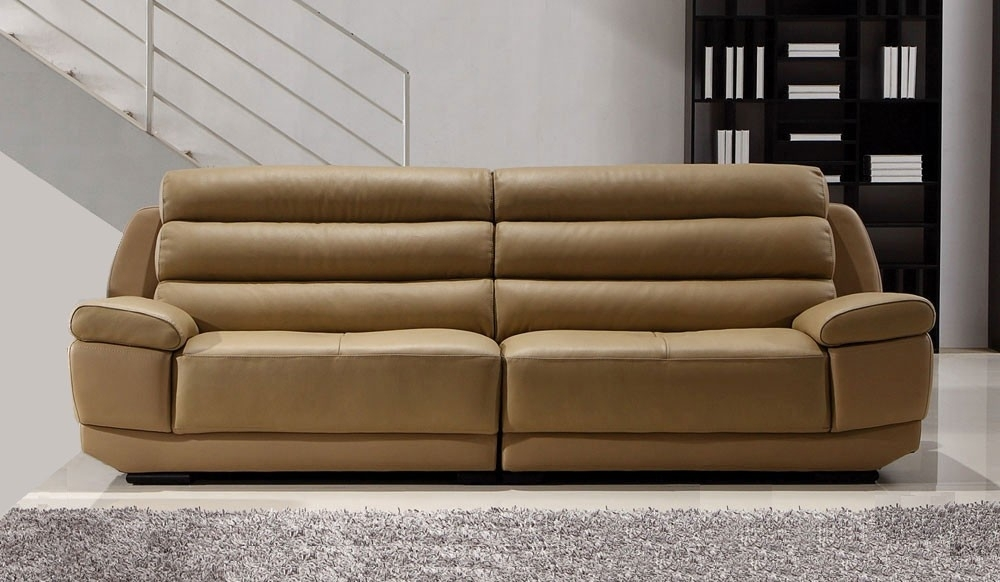Fanelli Large Leather Sofa – 4 Seater – Delux Deco With Regard To Large 4 Seater Sofas (Photo 5 of 10)