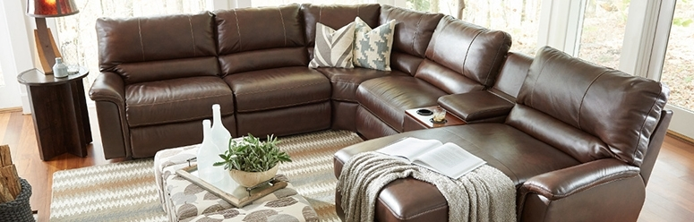 Fantastic Leather Reclining Sectional Sofa Sectional Sofas Sectional With La Z Boy Sectional Sofas (Image 4 of 10)