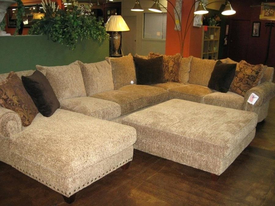 Fantastic Oversized Loveseat With Ottoman Large Size Of Sectional Within Sectional Couches With Large Ottoman (Image 3 of 10)