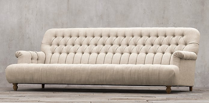 Fantastic Tufted Linen Sofa 81 About Remodel Sofas And Couches Set For Tufted Linen Sofas (Image 3 of 10)