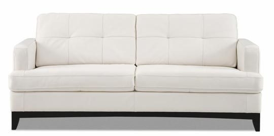 Fascinating Leather White Sofa Protecting White Leather Sofas From Pertaining To White Leather Sofas (Image 6 of 10)