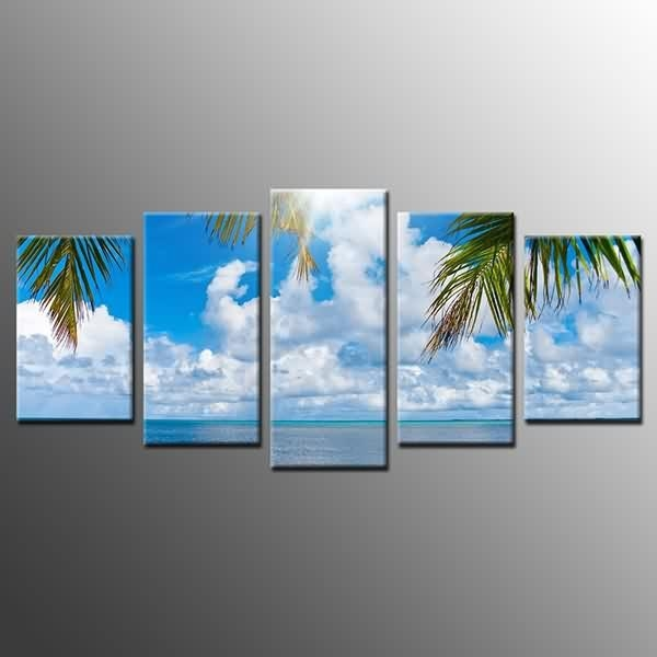 Fast Delivery For Canvas Prints Blue Sky White Clouds Wall Art In Canvas Wall Art Of Philippines (Image 7 of 20)