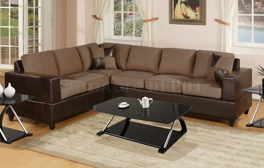 Faux Leather Sectional Sofas | Home Vid Inside Faux Leather Sectional Sofas (Image 6 of 10)