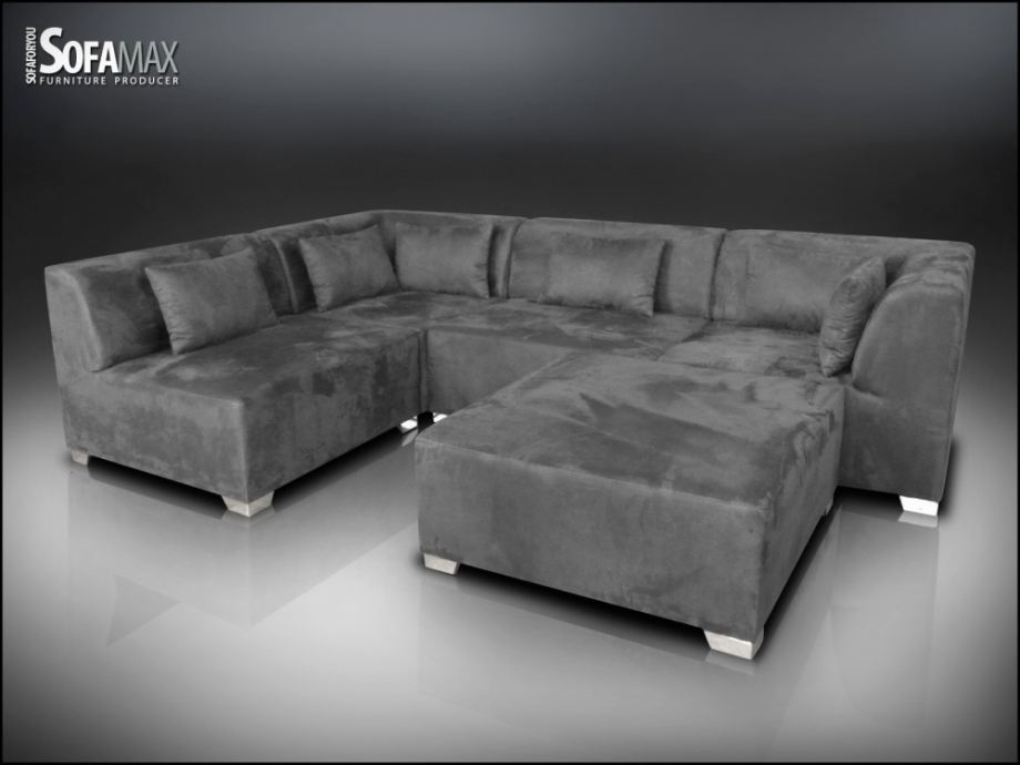 Faux Suede Couch | Tirtagucipool Within Faux Suede Sofas (Photo 4 of 10)